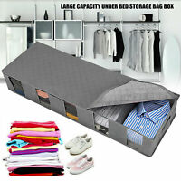 Large Capacity Under bed Storage Bag Shoes Duvet Clothes Storage Container Bag