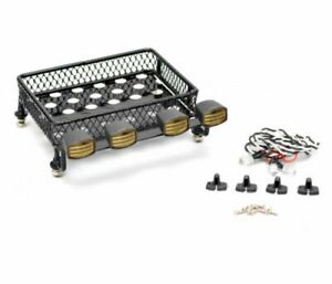 Roof Luggage Rack LED Light Set RC Part Accessories For Axial SCX10 90046 Trx4
