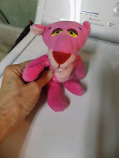 "Vtg 1996 UNITED ARTISTS  PICTURE 8"" Plush PINK PANTHER BEAN BAG Stuffed toy  10"