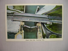 Vintage Postcard Aerial View Of The Lower Lock Gate At The Kentucky Dam Unused
