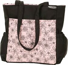 Graco Modern Diaper Bag Black & Pink - Jenny
