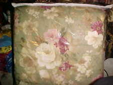 Rennie-Sunshine American Home Furnishing Laural Home SageW/Floral Comforter Full