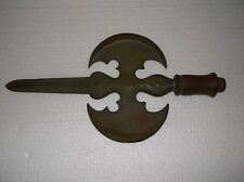 DOUBLE HEADED AXE W/ SWORD--MEDIEVAL ARMS COLLECTIBLE PIECE OF HOME DECOR