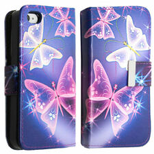 Synthetic Leather Patterned Wallet Cases for iPhone 6 Plus