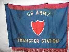 flag254 WW 2 US Army Transfer Station Flag