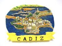 Cadiz Andalucía Poli Imán España España Recuerdo de Viaje Fridge