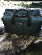 Ben Sherman Duffle Bag, Green Polka Dots, Cotton Lining