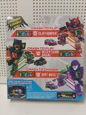 Transformers Bot Shots Cliffjumper Brawl Dirt Boss 3 Pack Hasbro New