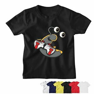 SLOGOMAN CONSOLE T-shirt Child Adult Gaming Youtuber Gamer Gift | Age 2 to 5XL