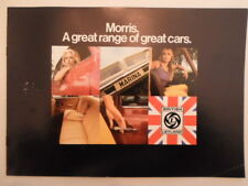 MORRIS RANGE orig 1972 UK Mkt Sales Brochure - Mini Marina 1800 2200 - BL 2955/A