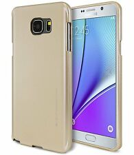 Galaxy Note8 Note5 Note4 Case GOOSPERY Ring2 i Clear Jelly Metal Metallic Cover