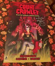 Count Crowley SIGNED Poster Dark Horse NYCC 2019 Exclusive David Dastmalchian