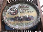 Vintage Dobler Brewing Co. Albany, N. Y. Beer Tray, Oval
