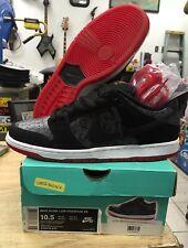 Nike Dunk Low Premium SB [313170-017] Skateboarding Snake Black/Red Sz 10.5 DS