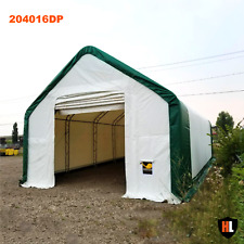 20x40x16ft DoubleTrussed Storage Tent - Strong PVC fabric & galvanised steel