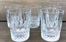 Vintage Waterford Crystal Glass Tumblers 5 Available