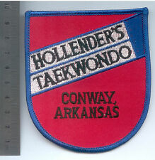 PARCHE MARTIAL ARTS HOLLENDER´S TAE KWON DO, CONWAY ARKANSAS PATCH