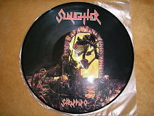 SLAUGHTER - Strappado      PICTURE LP   1987   BLOODY KARNAGE    rare press