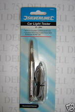 Test lamp, circuit tester  6v - 24volt. Cable piercing