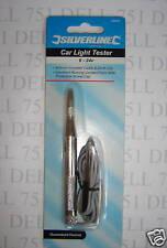 Prueba de la lámpara, Probador De Circuitos 6v-disponible en 24Volt. Cable Piercing