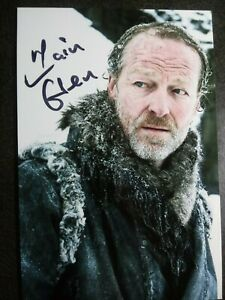 IAIN GLEN As JORAH Authentic Hand Signed Autograph 4X6 Photo - GAME OF THRONES