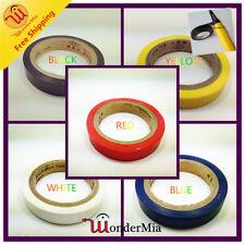 2pcs 8m Adhesive AntiSlip Grip Tape For Tennis Badminton Squash Racket (5 COLOR)