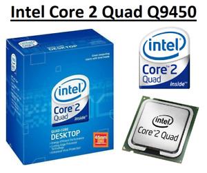 Intel Core 2 Quad Q9450 SLAWR 2.66GHz 12MB Cache, 4 Core, Socket LGA775, 95W CPU