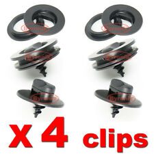 VW FLOOR MAT CARPET SCREW CLIPS SCREWS PLASTIC TURN LOCK TWIST OVAL HOLE RINGS
