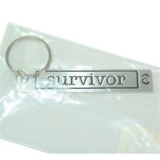METAL MORPHOSIS BRAILLE KEY RING- SURVIVOR