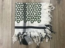 Leigh & Luca New York Recycle Large Scarf NWT Cotton Silk Blend
