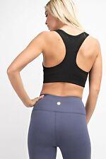 Basic Racerback Bralette Women's Butter Soft Comfy Athleisure Sports Bra