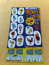 Sticker Sammelsticker Anime Stickerbogen Pokemonsticker Kids Zone Lorblatt