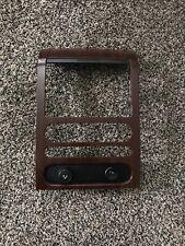 04-08 Ford F150 Center Dash Black Bezel Heater Radio Climate Control Woodgrain