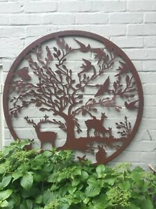 Ex.Large Outdoor Rustic Wall Art  Woodland Tree Great Detail Great Value