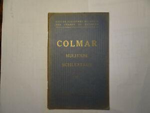 GUIDE MICHELIN DES CHAMPS DE BATAILLE COLMAR MULHOUSE SCHLESTADT 1914 1918