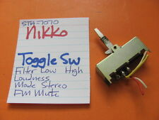 Nikko Sta-7070 Receiver Toggle Switch Filters Loudness Mode Stereo Fm Mute