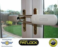 PATLOCK Patio Conservatory French Double Door Lock Extra Security Device