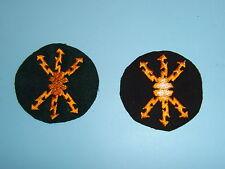 b4554 WW2 German Army Qualification Patch Signal Sergeant Funkmeister