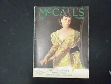 1933 APRIL MCCALL'S MAGAZINE - NEYSA MCMEIN COVER - ST 3887