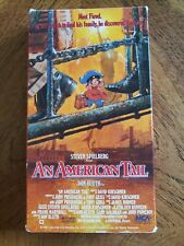 An American Tail (1987) 1st edition!