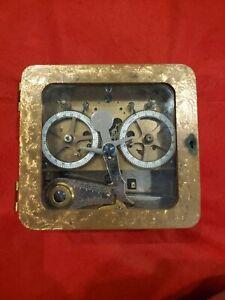 Vintage Sargent & Greenleaf Vault time lock timelock 1877 (1 side runs)