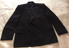Men Gianni Manzoni Tendenza Jacket Blazer Double-Breasted Made in Italy Wool