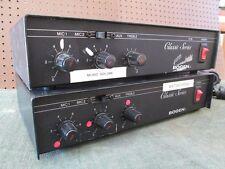 Bogen Classic Series Challenger C10 C20 Amplifier 70 Hz to 16 kHz Max 300W 60Hz