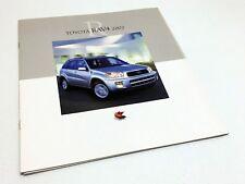 2002 Toyota RAV4 Brochure