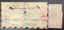 1941, U.S. Airmail Cover To Norway, German Censor Tape w/U.S. Symbols, Neat Item