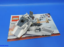 Lego ® Star Wars de set 8083 snow speeder bike/sin figuras