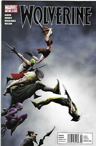 Wolverine Comic 13 Cover A Jae Lee First Print 2011 Jason Aaron Renato Guedes