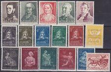 594) NETHERLANDS - NEDERLAND 1941 / 1943   POSTFRIS - MNH COMPLETE SETS -