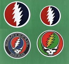 GRATEFUL DEAD Stickers CLASSIC JAM BAND ROCK hippie 60s 70s 80s PSYCHEDELIC folk