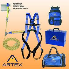 Artex Auffanggurt Auffangsystem Dachdecker Set PSA g. Absturz versch. Seillänge